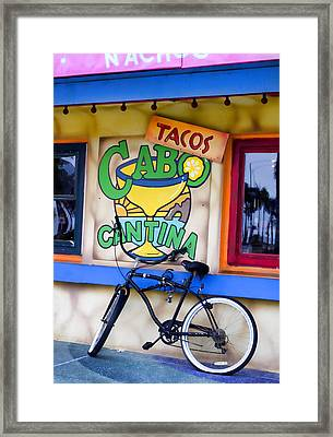Cantina Framed Print by Carol Leigh