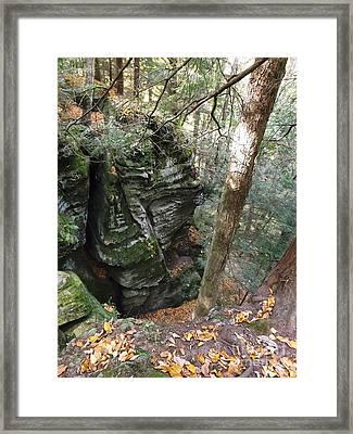 Cantwell Cliffs Framed Print by Gerald Strine