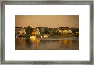 Cape Cod Evening Framed Print by Michael Petrizzo
