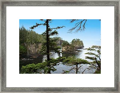 Cape Flattery Framed Print by Christy Leigh