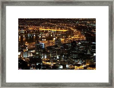 Cape Town Framed Print by Fabrizio Troiani