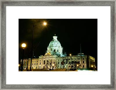 Capital Dome Framed Print by Edward Congdon