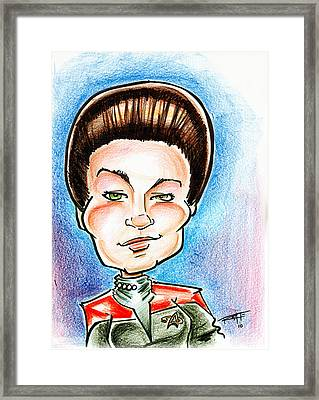 Captain Jayneway Framed Print by Big Mike Roate