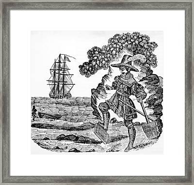 Captain William Kidd, C. 1645-1701 Framed Print by Everett