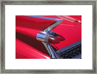 Car Detail Framed Print by Garry Gay