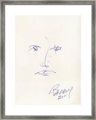 Cara 11 Framed Print by Bradley