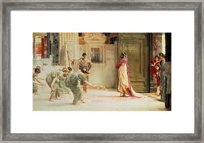 Caracalla Framed Print by Sir Lawrence Alma-Tadema