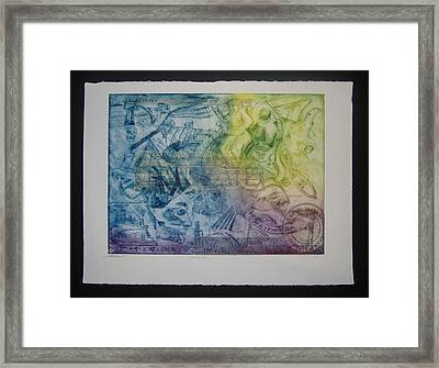 Carbon Taxing  Framed Print by John  Schwind