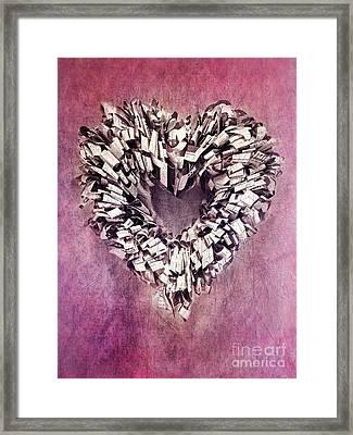 Cardia Framed Print by Priska Wettstein