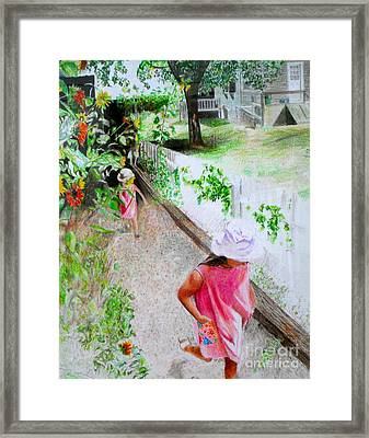 Carefree Framed Print by Beth Saffer