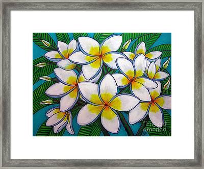 Caribbean Gems Framed Print by Lisa  Lorenz