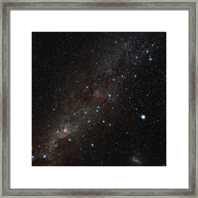 Carina Constellation Framed Print by Eckhard Slawik