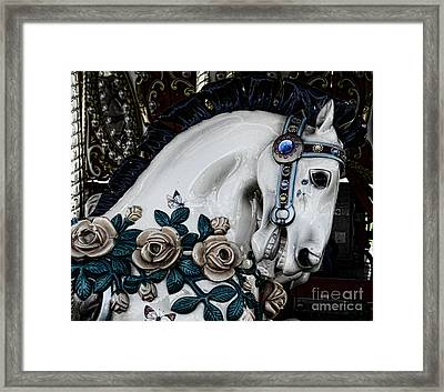 Carousel Horse - 8 Framed Print by Paul Ward