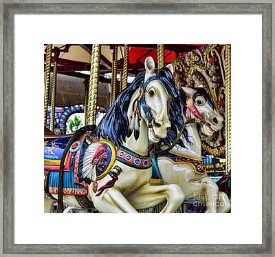 Carousel Horse 2 Framed Print by Paul Ward