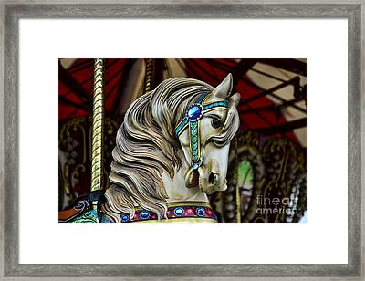 Carousel Horse 3 Framed Print by Paul Ward