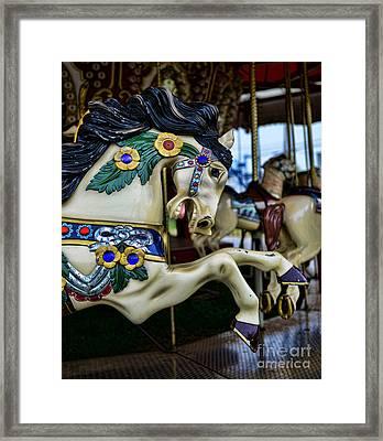 Carousel Horse 5 Framed Print by Paul Ward
