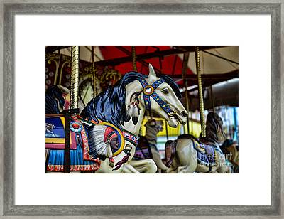Carousel Horse 6 Framed Print by Paul Ward