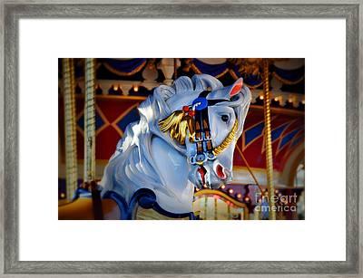 Carousel Framed Print by Lyle  Huisken