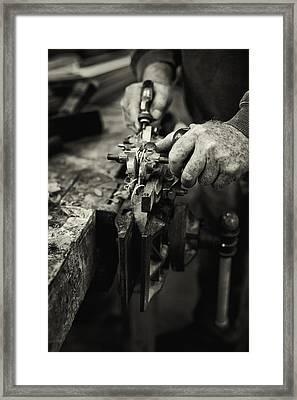 Carpenter L Framed Print by Rob Travis
