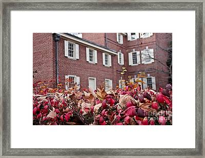 Carpenter's Hall Framed Print by Extrospection Art