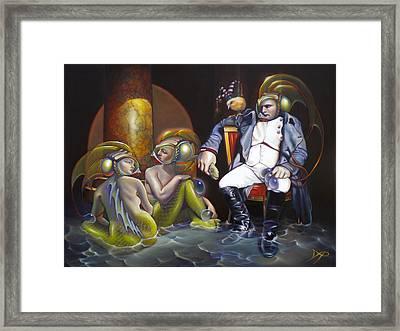 Carpoleon Bonafish Framed Print by Patrick Anthony Pierson