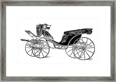 Carriage: Victoria Framed Print by Granger