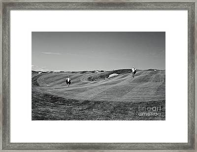 Carrying The Load Framed Print by Scott Pellegrin