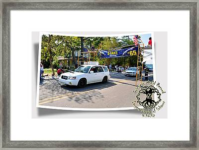 Cars Crossing 173 Framed Print by PhotoChasers