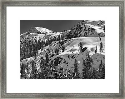 Carson Pass Framed Print by A A