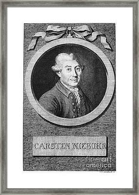Carsten Niebuhr (1753-1815) Framed Print by Granger