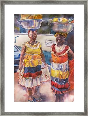 Cartegna Ladies Framed Print by Joyce Kanyuk