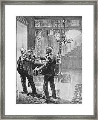Carter Henry Harrison Framed Print by Granger