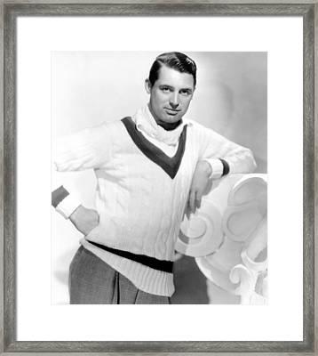 Cary Grant, 1934 Framed Print by Everett