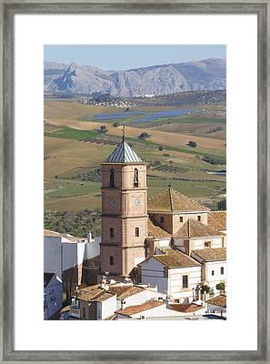 Casabermeja, Spain. Framed Print by Ken Welsh