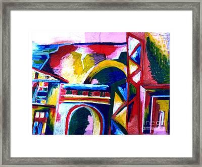 Casablanca Framed Print by Faye Halsall