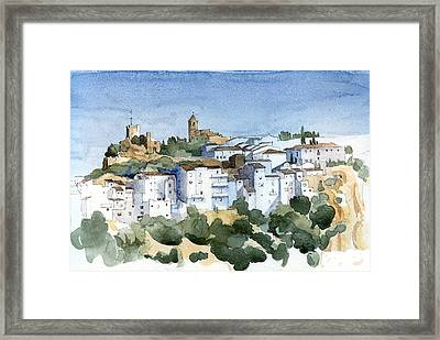 Casares 2 Framed Print by Stephanie Aarons