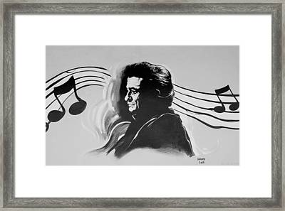 Cash In Black And White Framed Print by Rob Hans