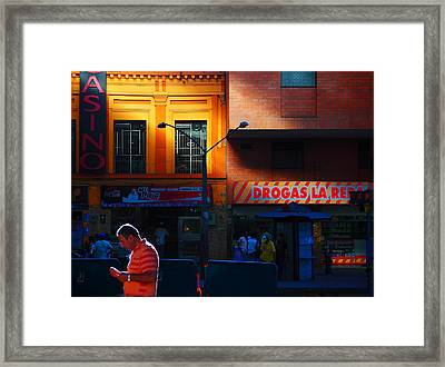 Casino Framed Print by Skip Hunt