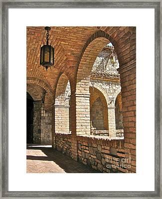 Castello Amorosa Framed Print by Italian Art