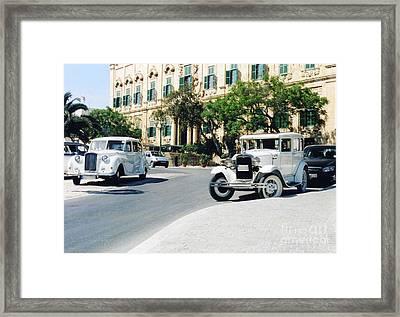 Castille Square Framed Print by John Chatterley