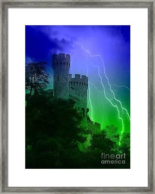 Castl Night Framed Print by Yury Bashkin