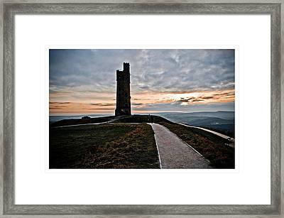 Castle Hill Framed Print by Mark Britten