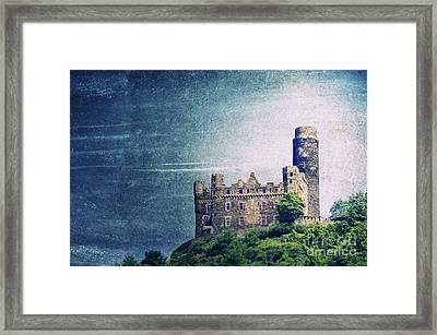 Castle Mouse Framed Print by Angela Doelling AD DESIGN Photo and PhotoArt