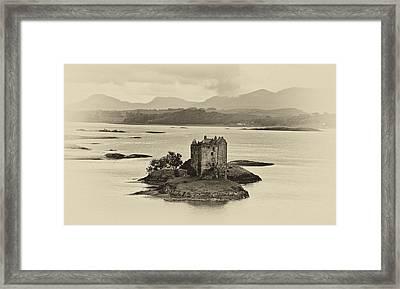 Castle Stalker Framed Print by Chris Thaxter