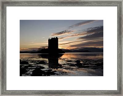 Castle Stalker Framed Print by Pat Speirs