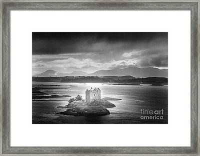 Castle Stalker Framed Print by Simon Marsden