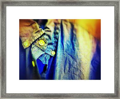 Casual Framed Print by Olivier Calas