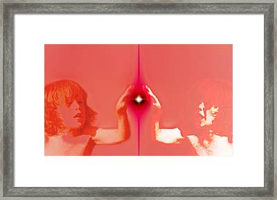 Catch The Future Framed Print by Li   van Saathoff