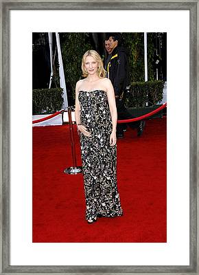 Cate Blanchett Wearing A Balenciaga Framed Print by Everett