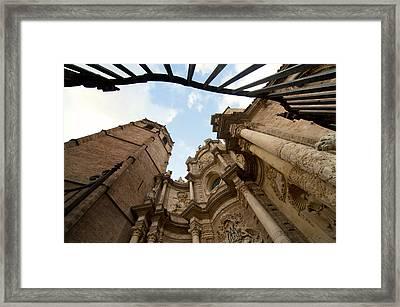 Catedral De Valencia Framed Print by Fabrizio Troiani